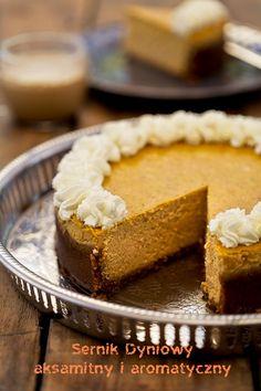 Sernik dyniowy Healthy Cheesecake, Best Cheesecake, Cheesecake Recipes, Fall Dessert Recipes, Great Desserts, Fall Desserts, Food Cakes, Cupcake Cakes, Pumpkin Cheescake