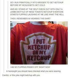 Ketchup tumblr post
