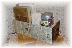 VIntage Singer Sewing Machine Drawer Curio Box by raisedoncotton2, $39.99