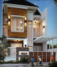 Best Modern Home Architectural Styles and Designs Village House Design, Bungalow House Design, Modern House Design, Front Elevation Designs, Dream Mansion, Inside Design, Design Firms, Home Bedroom, Home Builders
