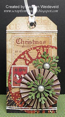 Scrap from Bemmel: Kerst-tags Graphic 45 - Wendy Schultz ~ Graphic 45 cards & Layouts.