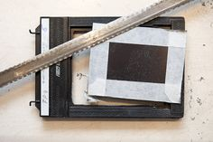 How to modify a film holder for wet plate photography.