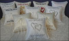 Patchwork Bags and Wedding Pillows