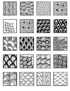 Zentangle Patterns for Beginners için resim sonucu