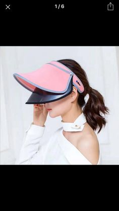 12 Best Stylish sun visors for women images  c8fbb7fdf76a