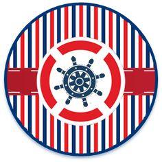 bonobon candy bar nautico kit imprimible Nautical Cake, Nautical Party, Lucas Gabriel, Cruise Scrapbook, Bottle Cap Images, Digi Stamps, Baby Cards, Beach Themes, Chicago Cubs Logo