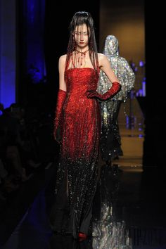 Jean Paul Gaultier Otoño-Invierno 2014-2015 - Alta Costura - http://es.flip-zone.com/fashion/couture-1/fashion-houses/jean-paul-gaultier-4812 - ©PixelFormula