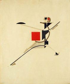A Proun by El Lissitzky  http://russianconstructivists.blogspot.com/p/el-lissitzky.html