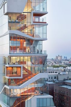 Vagelos Educational building by DS+R