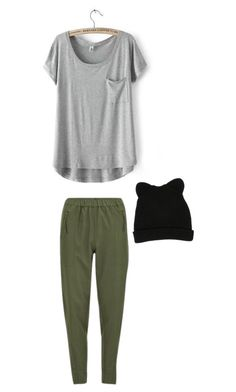 """""""doing nothing today"""" by sierra-light ❤ liked on Polyvore featuring Vero Moda, George J. Love, women's clothing, women, female, woman, misses and juniors"""
