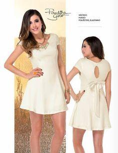 Paulina Goto: Vestido corto con lazo