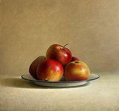 Jos van Riswick, Apples on plate