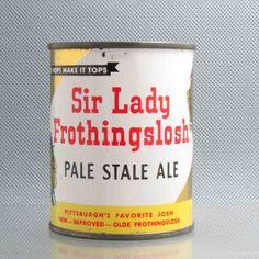 Best beer name ever.