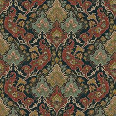 Cole and Son Pushkin wallpaper in Forest Green from The Mariinsky Collection Damask Wallpaper, Green Wallpaper, Wallpaper Samples, Wallpaper Online, Wallpaper Roll, Wall Wallpaper, Pattern Wallpaper, Designer Wallpaper, Shabby Chic Tapete