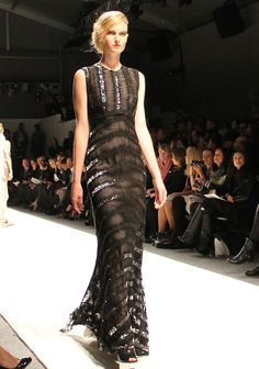 Another flawless design by designer, Bibhu Mohapatra. #NYFW #StyleNetwork