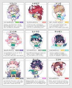 Anime Prince, The Prince Of Tennis, Kawaii, Chibi, Animation, Fan Art, Manga, Illustration, Cute