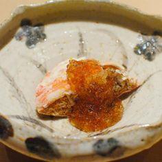 Cangrejo con huevas jalea dashi #Sushi #ginza #miso #Tokyofood #Japon #Kaiseki #restaurant #hospitality by josericardovegamoran