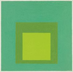 Title: Homage to the Square Artist: Josef Albers (1888-1976, American/German) Year: 1963