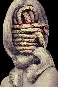 Eugenia Loli, Collage Artists, Gallery, Ropes, Roof Rack