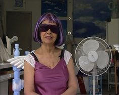 Ultra-Violet (Isabelle Collin Dufresne)  One of Andy Warhol's 'Factory People'