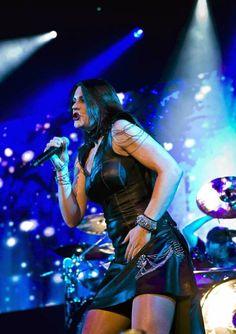 Floor Jansen leading #Nightwish in Finland