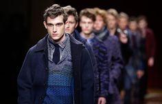 From Ferragamo to Bottega Veneta, warm, tactile fashion setting trends for Milan menswear