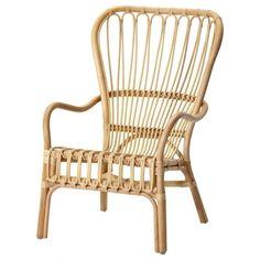 ikea-storsele-rattan-chair-gardenista #IkeaChair