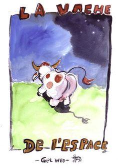 La vache de l'espace - Comics/BDs - Humour