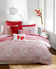 Bar III Henna Bedding Collection - Duvet Covers - Bed & Bath - Macy's