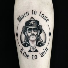 Vinicius Wang Tattoos — Lemmy Tattoo for Victor.