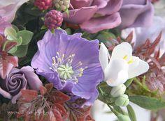 Композиции : Букет Sorrento. Цветы из глины - В НАЛИЧИИ - Fito Art
