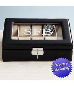 Amazon.com - Personalized Watch Box - Valentine's Day Gifts for Him
