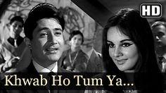 Khwaab Ho Tum Ya Koi - Dev Anand - Teen Deviyan - Romantic Old Hindi Son...
