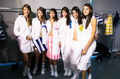 Backstage with the girls at Jacquemus Spring 2015