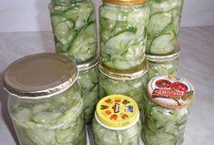 Okurkový salát na uskladnění Fresh Rolls, Pickles, Cucumber, Vegetarian Recipes, Easy Meals, Ethnic Recipes, Food, Essen, Quick Easy Meals