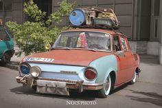 Skoda 100 rat style Rat Look, Cool Bugs, Kustom Kulture, Buses, Cars And Motorcycles, Hot Rods, Volkswagen, Porsche, Classic Cars