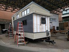 Other cities, including Seattle, Austin, and Madison, Wisconsin, have also experimented with tiny-house villages for the homeless.