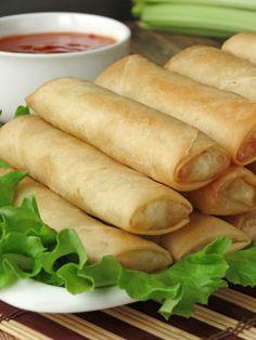 Filipino Spring Rolls - Lumpia   YummyAddiction.com