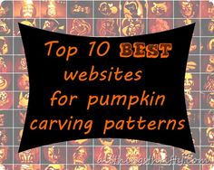 Pumpkin Carving Patterns {The top 10 best sites out there!}