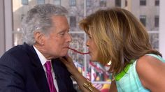 Watch Regis and Hoda go lip-to-lip in Twizzler Challenge