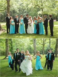 Wedding party pictures after the wedding. Click to view more from this wedding! Smithview Pavilion, Knoxville Wedding Photographer, Maryville wedding