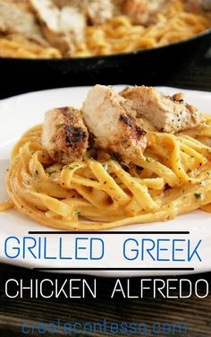 I am sure everyone is aware of how much I love Greek food. Well, if you're not, then search through my postings and you will see that I love all things Greek. My Grilled Greek Chicken Alfredo is one of my all-time favorite Greek meals. There's something about olive oil, oregano, lemon, feta, and Greek …