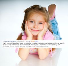 The 13 Creepiest Things A Child Has Ever Said To A Parent.. How do kids come up with this stuff