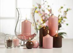 candle display -
