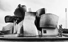 Guggenheim Bilbao 2012 by Rubén Perdomo, via Behance