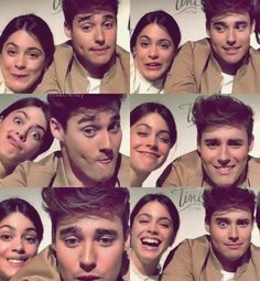 One of my great guy friends makes the same face as TINI in the 5th picture