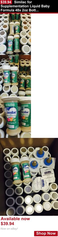 Baby Formula: Similac For Supplementation Liquid Baby Formula 48X 2Oz Bottles + Nipples BUY IT NOW ONLY: $39.94