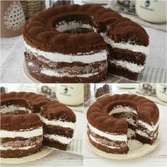 Pastry Recipes, Cake Recipes, Yummy Eats, Yummy Food, Plum Cake, English Food, Italian Desserts, Love Cake, Nutella