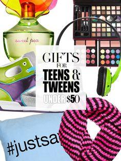 Gifts for Teens & Tweens Under $50  #communication #tweens #parenting  www.yousimplybetter.com