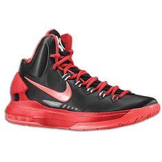 Nike+Basketball+Shoes | Nike KD V Men's Basketball Shoes Black/Bright Crimson/University Red ...